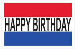 Happy Birthday Banner Size: 24