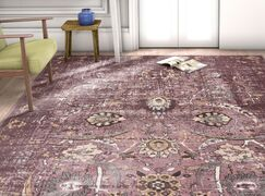 Aya Oriental Classic Lavender Area Rug Rug Size: Rectangle 9'3'' x 12'6''