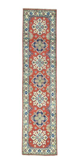 One-of-a-Kind Tillett Hand-Knotted Red Area Rug