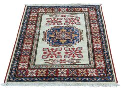 One-of-a-Kind Lawerence Super Hand-Knotted Ivory Area Rug