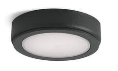 6D LED Under Cabinet Puck Light Finish: Black, Bulb: 2700K