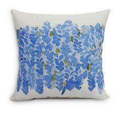 Quarterman Throw Pillow Color: Blue, Size: Large, Location: Indoor