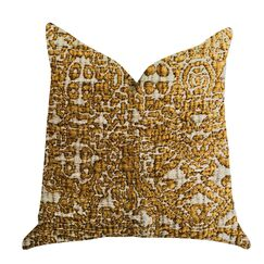 Gallucci Textured Luxury Pillow Size: 16