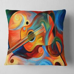 Abstract Origin of Imagination Pillow Size: 26