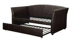 Jeramiah Daybed with Trundle Color: Espresso