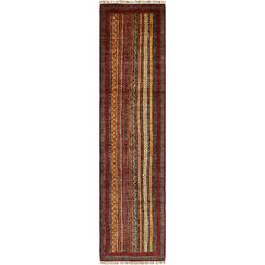One-of-a-Kind Denver Hand-Knotted Wool Red/Orange Area Rug