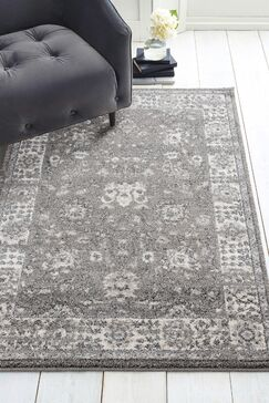Kinch Dream Gray Area Rug Rug Size: Rectangle 2'7