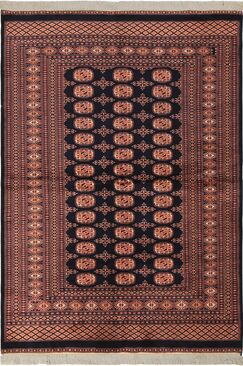 One-of-a-Kind Tanaquil Hand-Knotted Wool Blue/Pink Area Rug