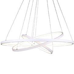 Derrow 3-Light  LED  Pendant Finish: White