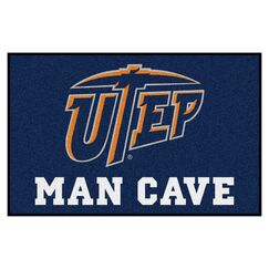 UTEP Doormat Mat Size: Rectangle 1'7