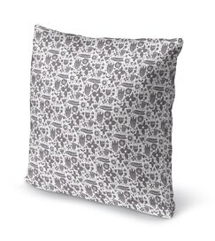 Glenpool Throw Pillow Size: 18