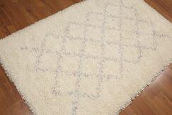 One-of-a-Kind Bernardyn Hand-Knotted Wool Ivory Area Rug