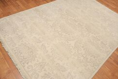One-of-a-Kind Provenzano Hand-Knotted Wool Beige Area Rug