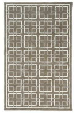 Wieland Framework Hand-Tufted Beige Area Rug Rug Size: Rectangle 8' x 10'