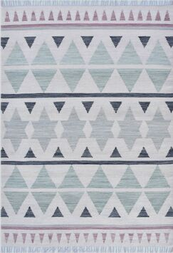Patillo Hand-Woven Wool Sage/Gray Area Rug Rug Size: Rectangle 5' x 8'