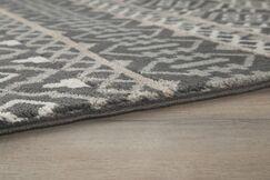 Reagle Black/Tan Area Rug Rug Size: Rectangle 7'10