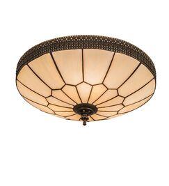 Norsworthy Honeycomb 3-Light Flush Mount