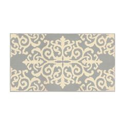 Are Gray/Ivory Area Rug Rug Size: Rectangle 2'8