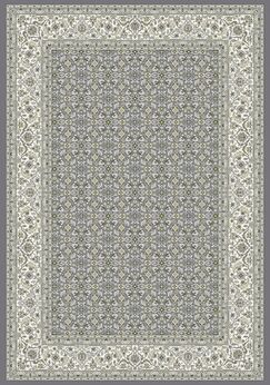 Attell Gray Area Rug Rug Size: Oval 6'7
