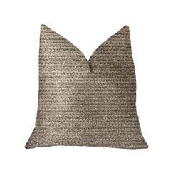 Dougherty Classy Luxury Throw Pillow Size: 20