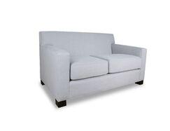 Tagen Plush Deep Loveseat Upholstery: Charcoal