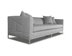 Gatewood Plush Deep Sofa Upholstery: Gray