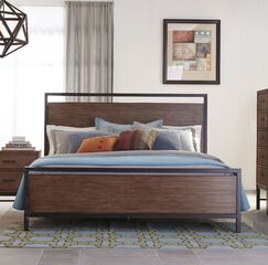 Arcadia Panel Bed Size: King