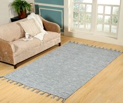 Willey Hand-Woven Wool Blue Area Rug Rug Size: Rectangle 2' x 4'