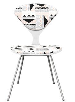 Blackwelder Dining Chair Frame Color: White/Chrome