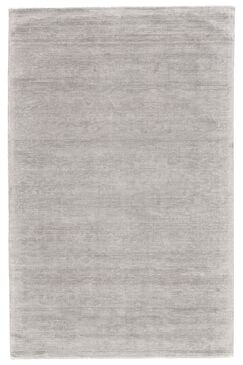 Riaria Hand-Woven Silver Area Rug Rug Size: Rectangle 9'6