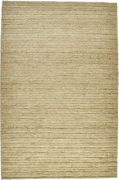 Riaria Hand-Woven Ivory Area Rug Rug Size: Rectangle 8' x 11'