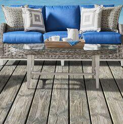Cape Lookout Wicker Coffee Table