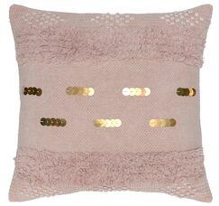 Delmon 100% Cotton Throw Pillow