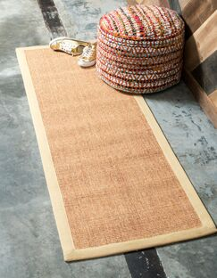 Grunin Light Brown Area Rug Rug Size: Runner 2' x 6'