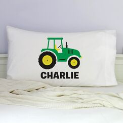 Kissel Personalized Tractor Pillowcase