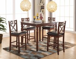 Noblestown Wonderful Counter Height Solid Wood Dining Table