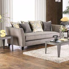 Lawrence Sofa Upholstery: Gray