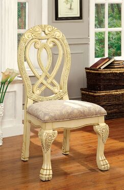 Belott Dining Chair Color: White