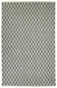 Stockstill Hand-Tufted Wool Gray Area Rug Rug Size: Rectangle 3'6