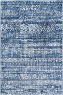 Montross Navy Area Rug Rug Size: Rectangle 4' x 6'