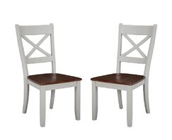 Benedetto Solid Wood Dining Chair (Set of 2)