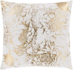 Crescent Transitional Cotton Throw Pillow Size: 18