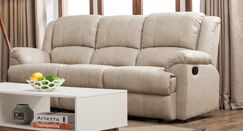 Glaspie 3 Seats Double Reclining Sofa