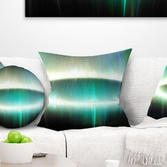 Abstract Large Oval Fractal Light Pillow Size: 16