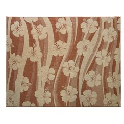 One-of-a-Kind Swinford Blooming Sand Indoor/Outdoor Area Rug Rug Size: Rectangle 7'3