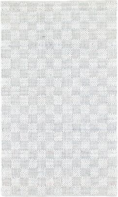 Cepeda Hand-Woven Cotton Ivory Area Rug Rug Size: Rectangle 5' x 8'