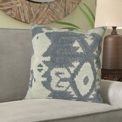 Marbury Woven Tribal Designer Luxury Pillow Fill Material: 95/5 Feather/Down, Size: 20
