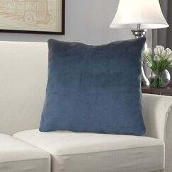 Kimsey Solid Luxury Pillow Size: 18
