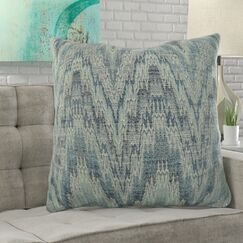 Lambright Zig Zag Designer Pillow Fill Material: 95/5 Feather/Down, Size: 20