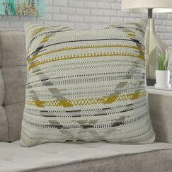 Ladner Aztec Pattern Pillow Fill Material: H-allrgnc Polyfill, Size: 20